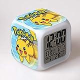 HHKX100822 Pokemon Gopies Réveil Pokemon Pikachu Coloré Réveil Humeur Cadeau Créatif 20