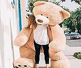 Bananair Osito Osos De Peluche Gigante (130 cm a 340 cm ) Gran Oso XXL Teddy Bear Piel Suave, cumpleaños, Navidad, Regalo, Juguete (260 cm)…