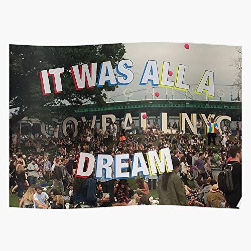 Sconosciuto Was all Gov A Ball Governors Cool Dream It Home Decor Wall Art Print Poster !