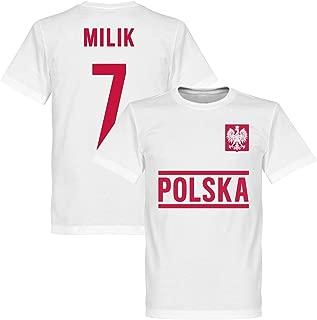NIKE POLONIA CALCIO MAGLIA ROSSO TAGLIA XL Poland AWAY stadio calcio Jersey EM WM 18