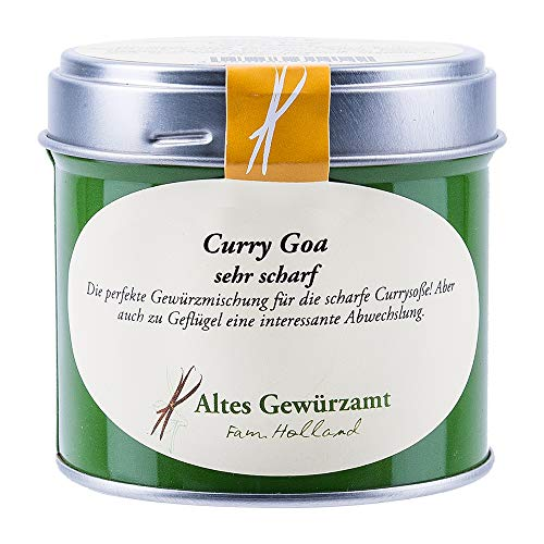 Altes Gewürzamt Gewürz Curry Goa sehr scharf, 70 Gramm - Ingo Holland