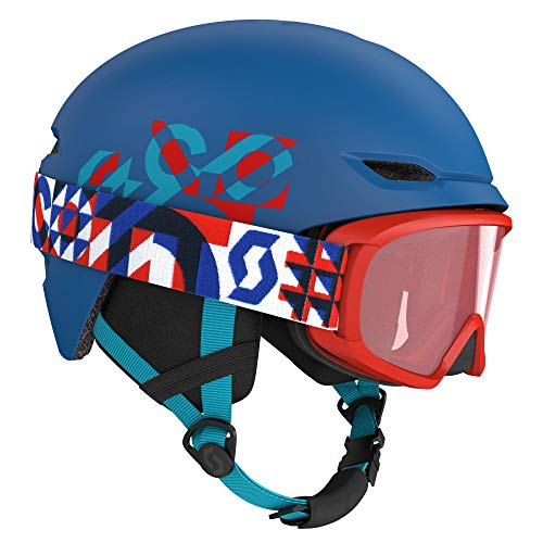 SCOTT Combo Keeper 2 + Goggle Jr Witty skihelm
