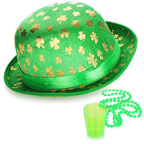 com-four Leprechaun, Disfraces de Kobold Da de San Patricio - atuendos Accesorios Festival, irlands - Mardi Gras, Shrovetide, Carnival, Parade, Motto Party, Irish Pub (02 Piezas - Set10)