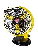 Seema Multipurpose Portable Stormy High Speed Personal Fan 9 inch, 50 Watts(Yellow)