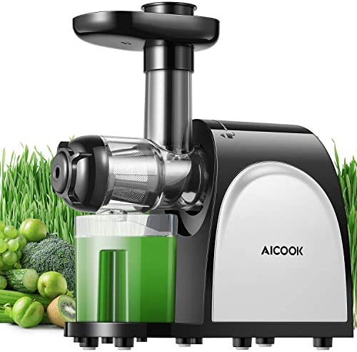 Juicer Machines AICOOK Cold Press Juicer Machine Easy to Clean Quiet Motor Reverse Function product image