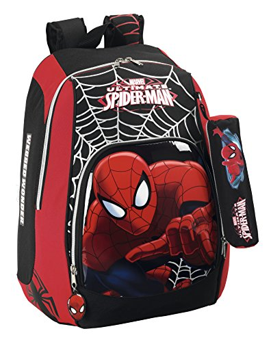 Safta Marvel Spider-Man - Mochila Adaptable a Carro 611412570