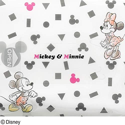 レックディズニー ミッキー&ミニー ウェットティッシュ 除菌ノンアルコール 1パック 60枚×3個 レック