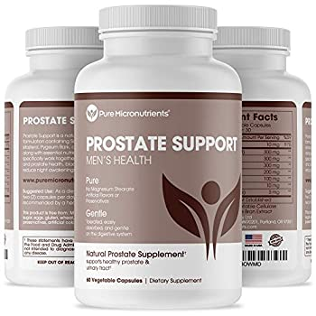 Advanced Prostate Health Supplement - Saw Palmetto Beta-Sitosterol Stinging Nettle Root & Lycopene - Bladder Control & Urinary Support Supplements for Men Pure Micronutrients