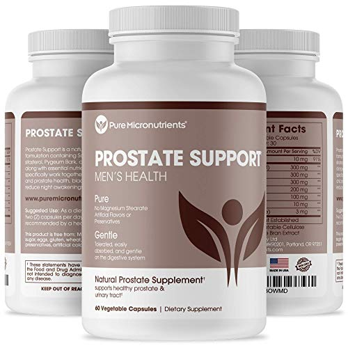 Advanced Prostate Health Supplement - Saw Palmetto, Beta-Sitosterol, Stinging Nettle Root, & Lycopene - Bladder Control & Urinary Support Supplements for Men, Pure Micronutrients