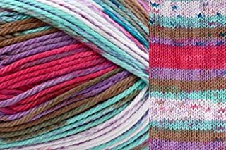 Universal Yarns Cotton Supreme Batik 36 Jumping Jacks