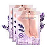 3 Pairs Lavender Deep <span class='highlight'>Moisturising</span> Foot Mask, Multiple Plant Extracts <span class='highlight'>Moisturising</span> Socks Foot Skin Repair Renew Booties, Moisturize for Dry, Aging, Cracked Heels Intense Skin Nutrition Foot Cream Mask