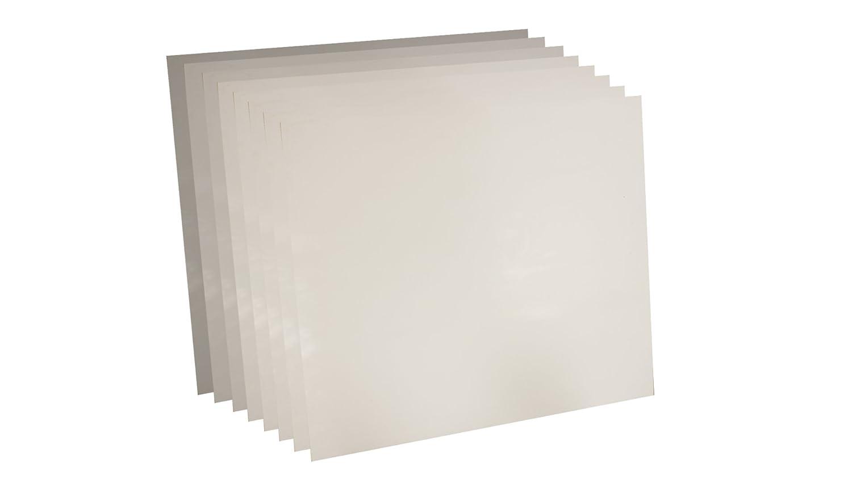 Sterling Seal 7530.06212x12x8 Under blast sales Max 42% OFF White Virgin Sheet 1 Teflon 7530
