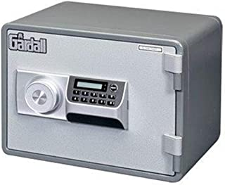 Gardall MS912-G-E w One Hour Horizontal Microwave Style Fire Safe with Electronic Lock, Grey