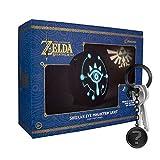 yvolve Zelda - Sheikah Light Triforce - Tischlampe - Original Nintendo Merchandise | Set inkl. Schlüsselanhänger