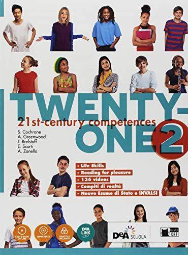 Twenty-one. Student's book-Workbook. Con Map it! Per la Scuola media. Con ebook. Con espansione online. Con DVD-ROM: 2