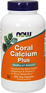 Now Supplements, Coral Calcium Plus, 250 Veg Capsules