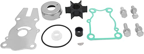 lowest Replace Yamaha 40HP 50HP 60HP Outboard Water Pump Repair Kit Impeller Replacement discount for discount 63D-W0078-01 Sierra 18-3434 online sale