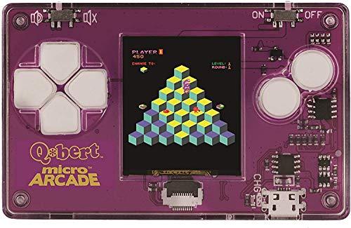 Worlds Smallest Micro Arcade Q Bert Handheld Arcade