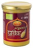 Ayurveda Foods - Organic Premium Bio Ghee 3er Set à 350g, sehr lange Haltbarkeit, Bio-Siegel, Brat-...