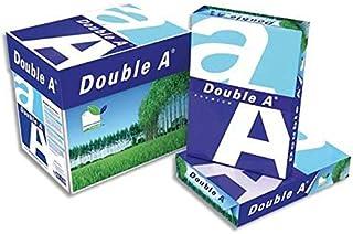 Lot de 5 Ramettes de 500 feuilles papier extra blanc PREMIUM DOUBLE A A4 80G CIE 165