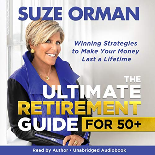The Ultimate Retirement Guide for 50+ audiobook cover art