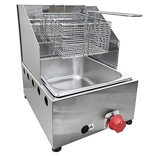 Fritadeira Profissional a Gás 5 litros - Alcamar