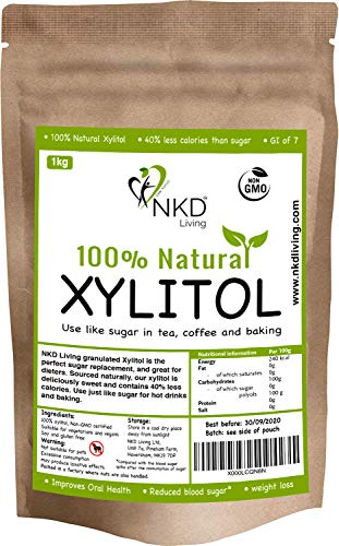 XILITOL 1 Kg, alternativa natural al azúcar | Con