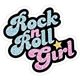Story Storm Store Rock n' Roll Girl Stickers (3 Pcs/Pack)