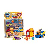 SuperZings - Serie 2 - Rivals of Kaboom: Bakery Mission (SZSP0200), con 2 Figuras, 2 Vehí...