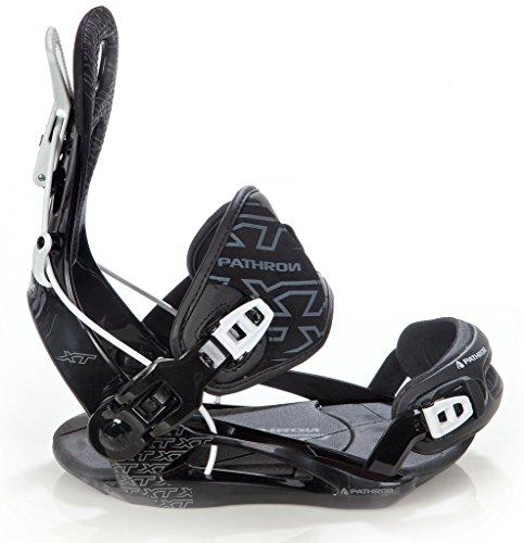 Pathron Snowboard Bindung Team XT Black (XL(43-47))