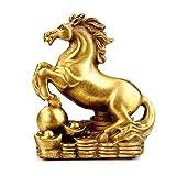 LXDDP Estatuas del zodíaco Chino Guardián latón Puro, decoración Feng Shui, para el hogar y la Oficina atraen Riqueza y Buena Suerte, felicitación inauguración la casa