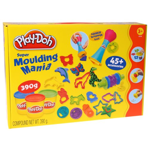 Play-Doh - Juego de plastilina Molding Mania (Hasbro 22440848)