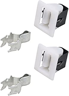 Repairwares Universal Appliance Door Latch Kit 279570 279570M 8001593 510177 WE1X1192 5366021400 4027EL2001A (2 Pack)