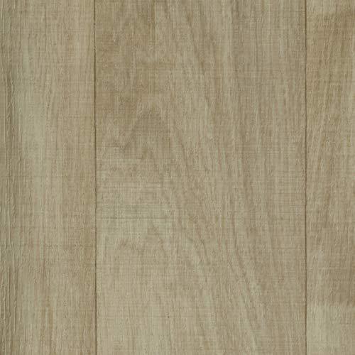 PVC Vinyl-Bodenbelag Landhausdiele Eiche hell | CV PVC-Belag in der Breite 500 cm & 750 cm Länge | 5m breiter CV-Boden wird in benötigter Größe als Meterware geliefert | rutschhemmend