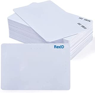 Default Programmed RexID H10301 PVC ISO Proximity Card for Access Control System. Comparable to Standard 26 bit Format for Add-On & Replacement on Current System (25 Pack, Facility Code - 102