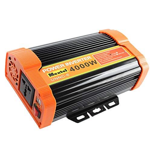 Inversor de energía solar 4000W 12V DC a 220V AC Convertidor de onda sinusoidal modificada