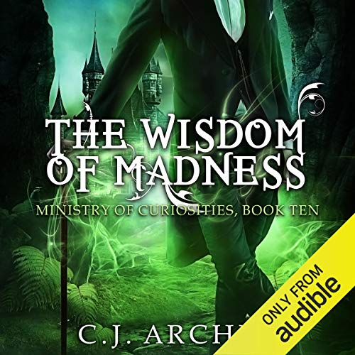 The Wisdom of Madness audiobook cover art