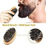 Beard Kit for Men Grooming & Care W/Beard Wash/Shampoo,2 Packs Beard Growth Oil,Beard Balm Leave-in Conditioner,Beard… 5