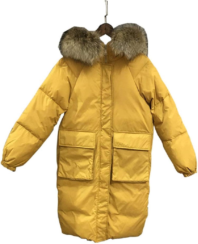 Winter Big Fur Collar Ladies Down Jacket Women Coat