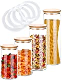 vasetti vetro per miele 💧IGIENICO E SICURO: Il contenitore è lavabile in lavastoviglie. Grazie alla chiusura ermetica dei barattoli, il cibo rimarrà fresco e protetto dagli insetti per molto tempo.