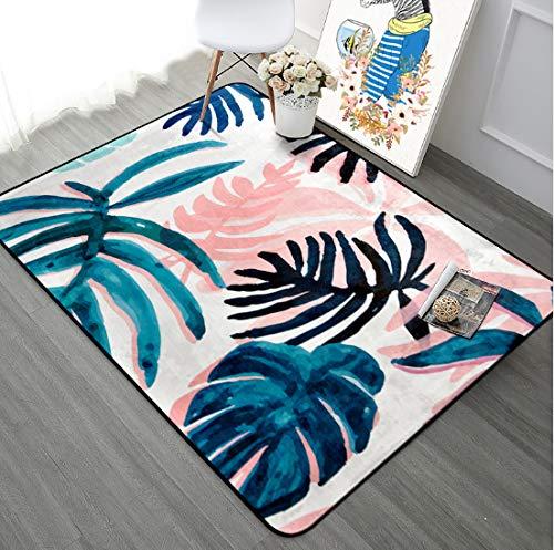 Mianbao Pastorale Pflanzenteppich für die weichen der romantischen Schlafzimmer Teppich Home Decor Couchtisch Bodenmatte Studie Teppiche und Karpfen ETS 200 * 300cm