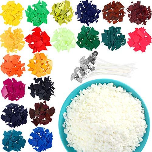 Kit de Tinte de Color de Vela, 20 Copos de Tinte de...