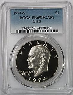 1974 one dollar coin