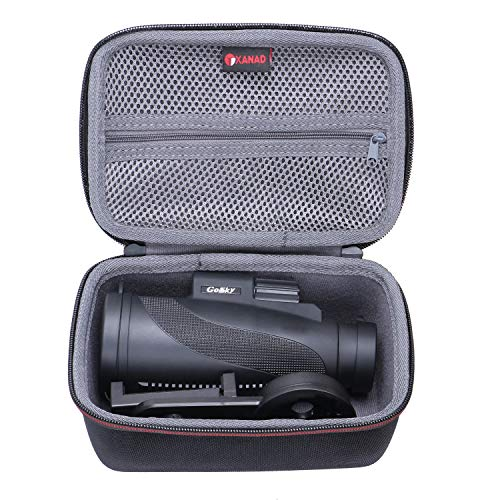 XANAD Hard Case for Gosky Titan 12X50 High Power Prism Monocular - Travel Carrying Storage Protective Bag