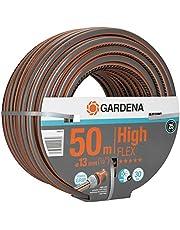 """GARDENA Comfort HighFLEX-slang 13 mm (1/2""""), 50 m: Trädgårdsslang med Power-Grip-profil, sprängtryck 30 bar, formstabil, UV-beständig, levereras förpackad (18069-20)"""