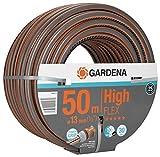 Gardena Comfort HighFLEX Schlauch 13mm (1/2 Zoll), 50 m: Gartenschlauch mit Power-Grip-Profil, 30...