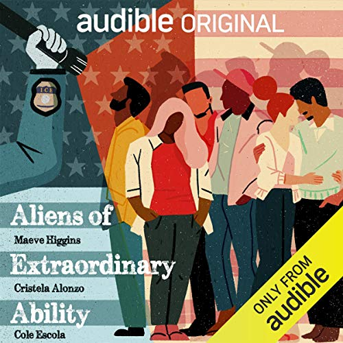 Aliens of Extraordinary Ability audiobook cover art
