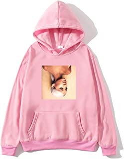 Ariana Grande hoodie sweatshirt pullover women girls men boy cotton fashion shirt tops