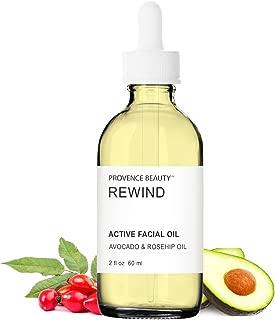 Active Facial Oil - Rewind - Avocado & Rosehip Oil - 2 FL OZ | Provence Beauty