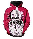 Boku No Hero Academia My Hero Academia Sudadera con capucha con impresión 3D unisex Anime Cosplay - - XXX-Large